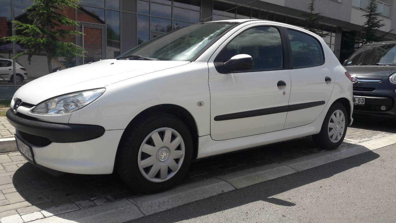 Rent a Car Peugeot 206 - car rental Peugeot 206